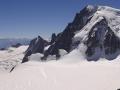 Mont Maudit - v pozadí i Mont Blanc
