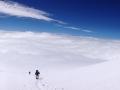 Panorama po cestě na Elbrus