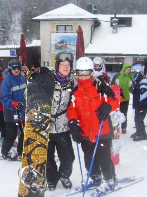 Lyžařský výcvikový zájezd - leden 2012
