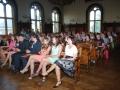 Předávání maturitních vysvědčení
