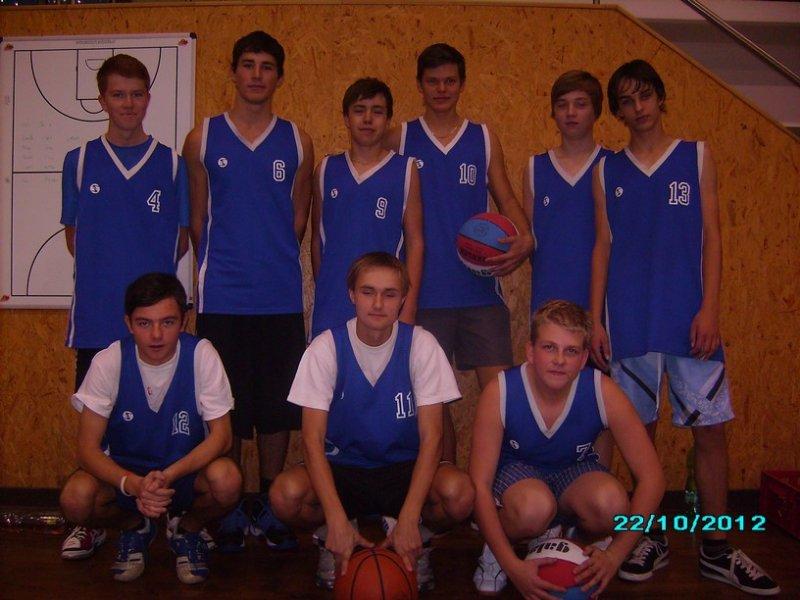 Družstvo chlapců