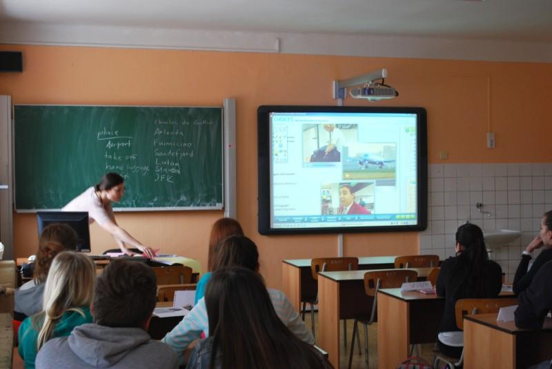 Ukázková hodina angličtiny
