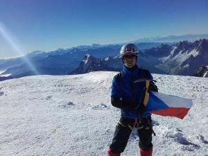 Mont Blanc 4810m.n.m